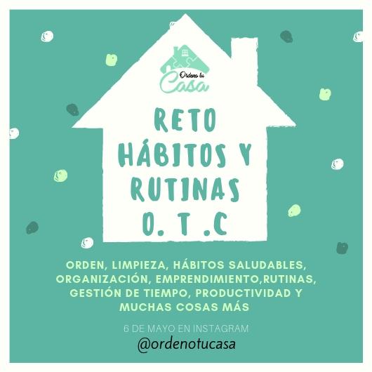RETO HÁBITOS Y RUTINAS SALUDABLES