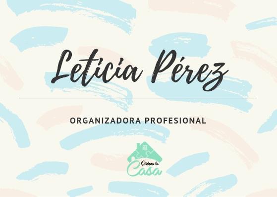 organizadora profesional, personal organizer