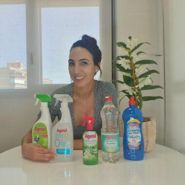 Agerul, mis nuevos productos de limpieza.
